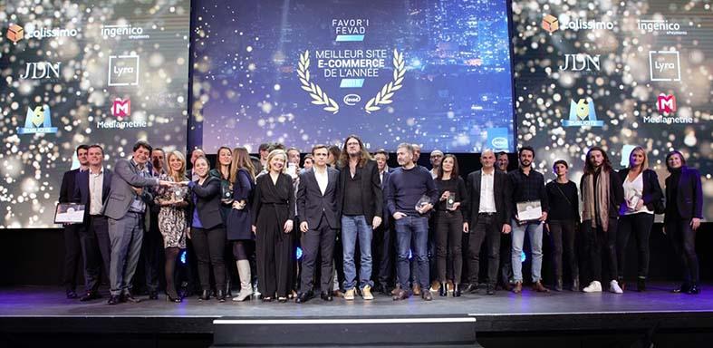 Les lauréats des Favor'i du e-commerce 2019